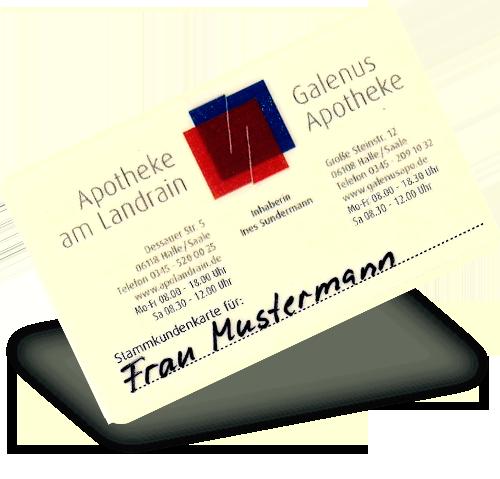 Galenus Apotheke Kundenkarte